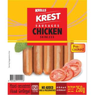 Krest Chicken Sausages 250g