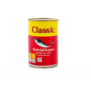 Classic Mackerel Canned Fish 425g