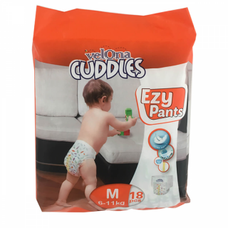 Velona Cuddles Easy Pants Medium - 18Pcs