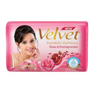 Velvet Rose & Pomegranate Soap 100g