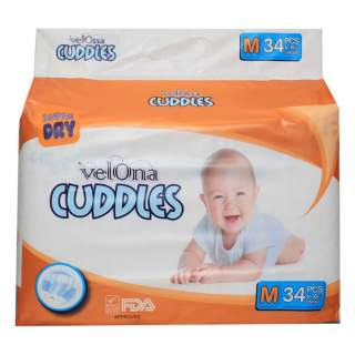 Velona Cuddles Classic Medium - 34Pcs
